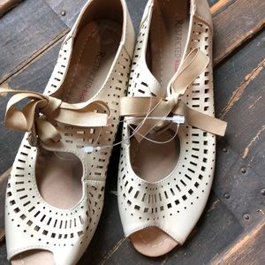 Restricted Shoes - Tan flats